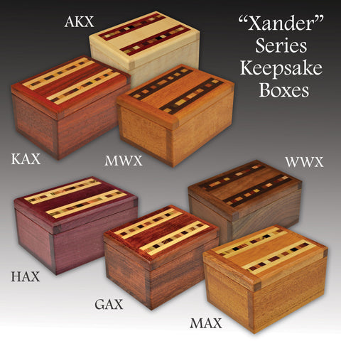 """Xander"" (376) Series Keepsake Boxes"