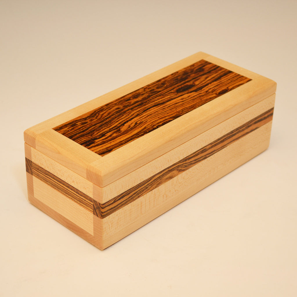 Maple & Bocote Small Valet Box