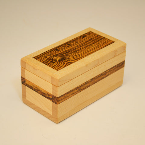 Maple & Bocote Keepsake Box