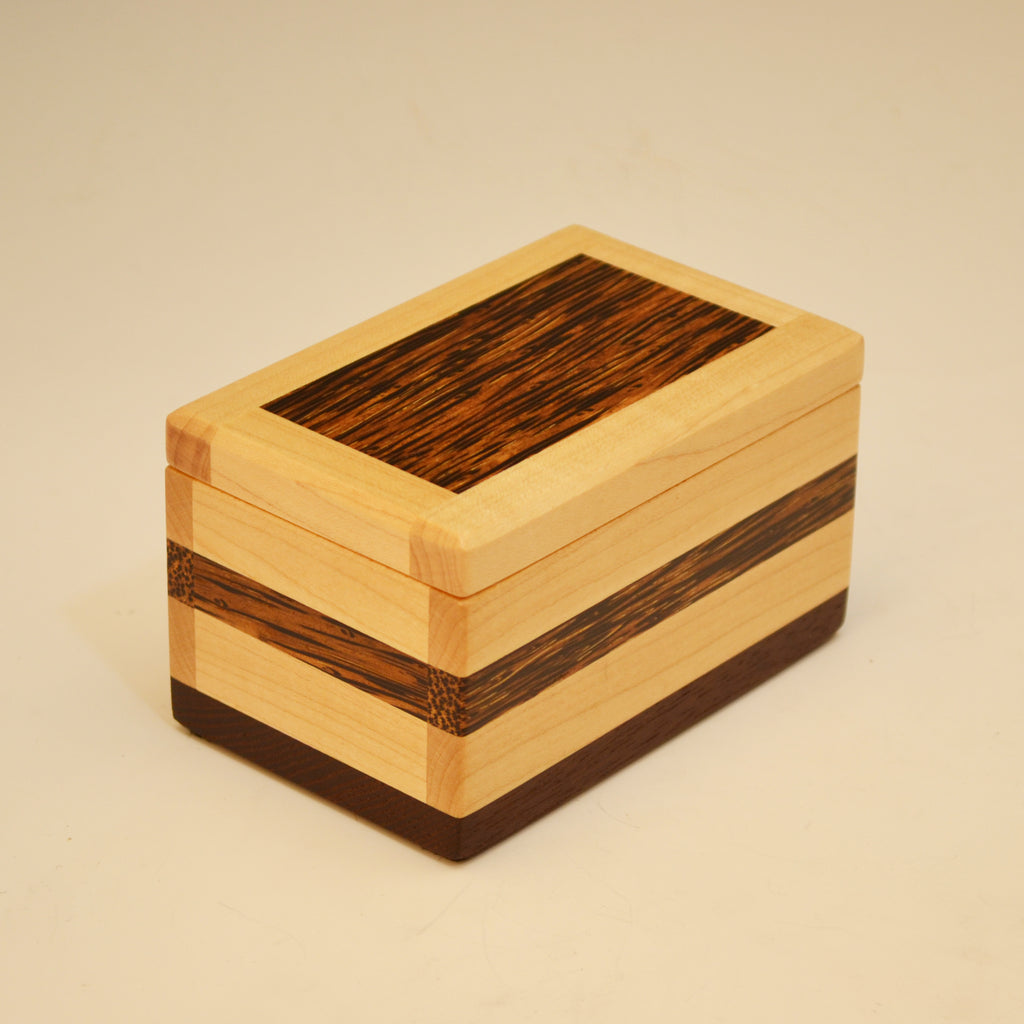 Maple & Black Palm Small Keepsake Box
