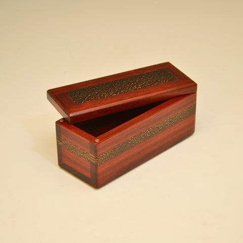 Bloodwood & Black Palm Small Keepsake Box