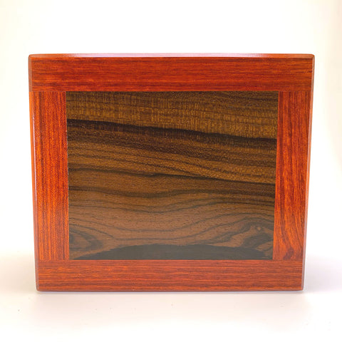 Bloodwood & Ziricote Medium Valet Box