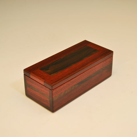 Bloodwood & Zircote Small Valet Box