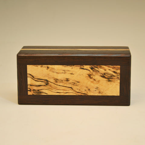 Wenge & Spalted Maple Small Keepsake Box