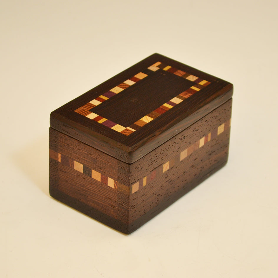 Black Walnut Mini Keepsake Box
