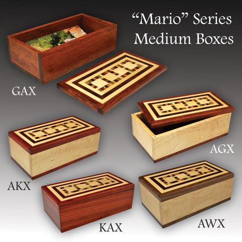 """Mario"" Series Medium Valet Boxes"