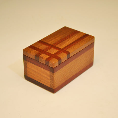 Ipe & Bloodwood Asymmetric Keepsake Box