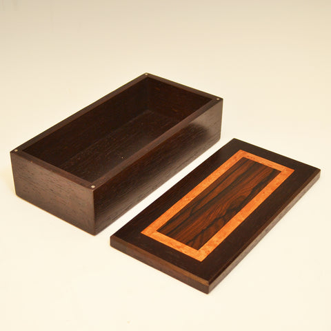 Wenge, Zircote & Mahogany Medium Long Valet Box