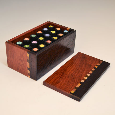 "Wenge & Bubinga ""Kyle"" Essential Oils Box"