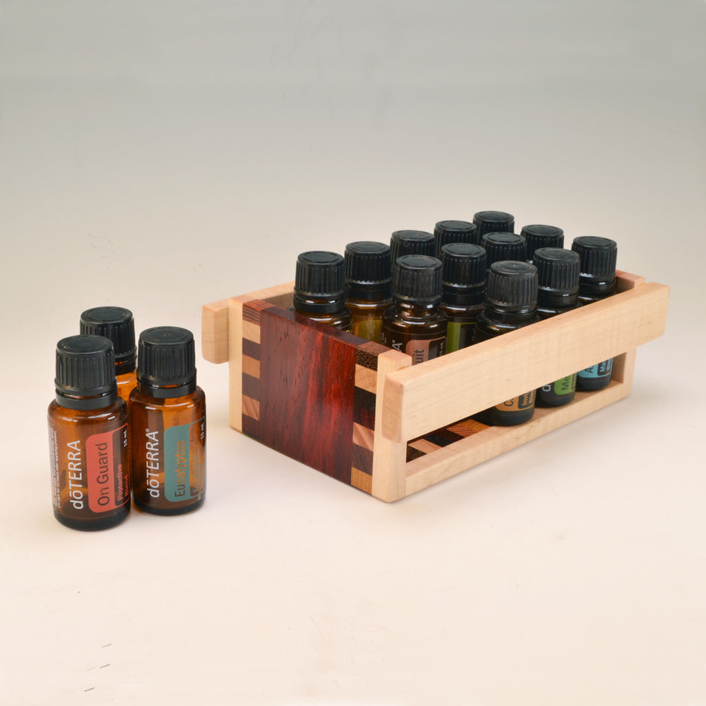 "Paudak ""Patti"" Essential Oil Crate (for 15 oils)"