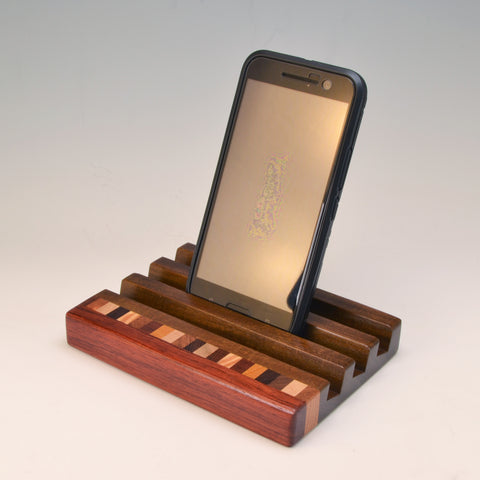 "Ipe & Bubinga ""Patti"" Docking Station"