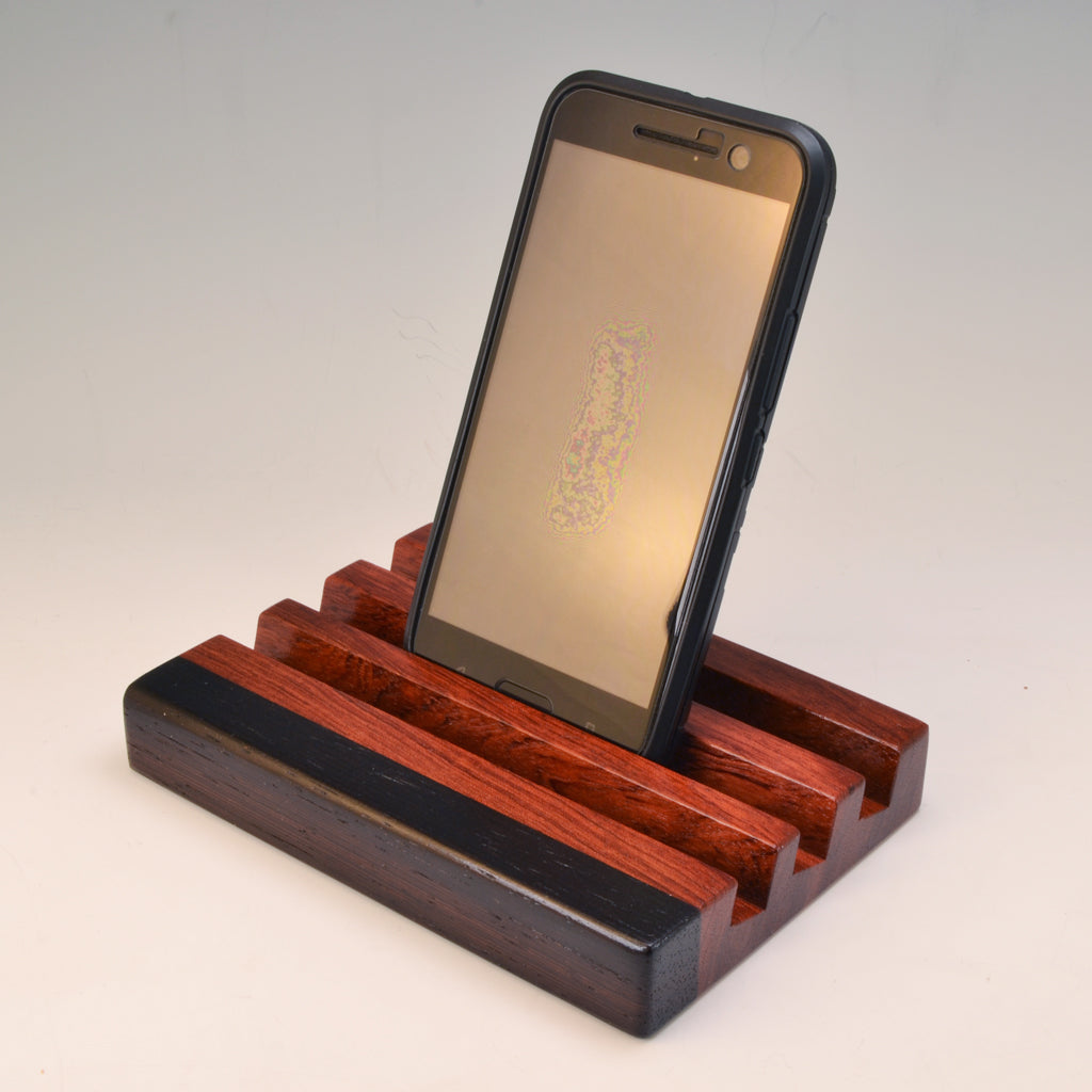 "Bubinga & Wenge ""Michael"" Docking Station"