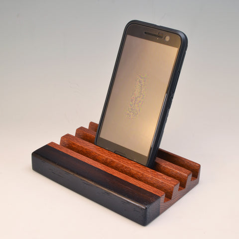 "Leopardwood & Wenge ""Michael"" Docking Station"