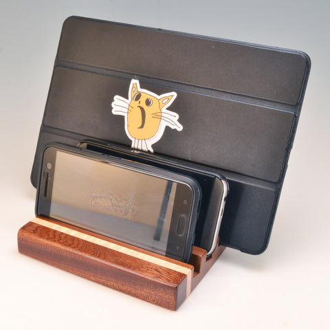 "Ipe & Mahogany ""Dennis"" Docking Station"