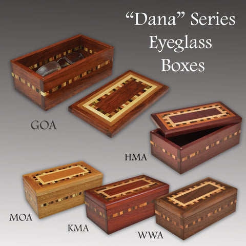 """Dana"" (E367) Series Eyeglass Boxes"