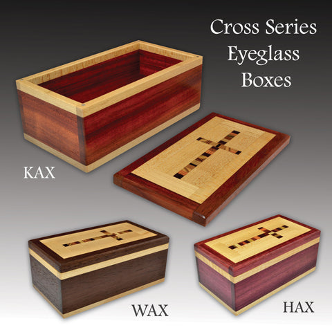 """Cross"" (E392) Series Eyeglass Boxes"