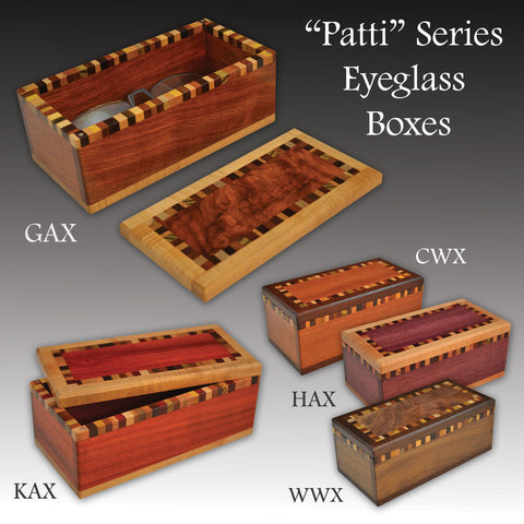 """Patti"" (E445) Series Eyeglass Boxes"