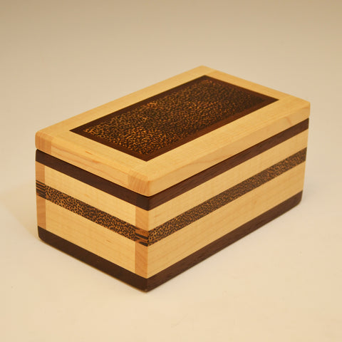 Maple & Black Palm Eyeglass Box