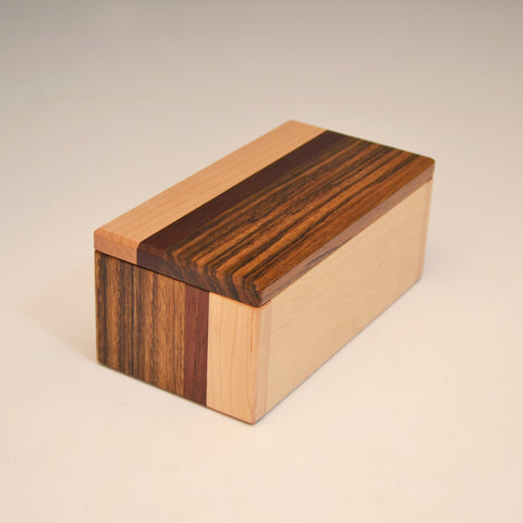 "Ovangkol & Maple ""Kyle"" Eyeglass Box"