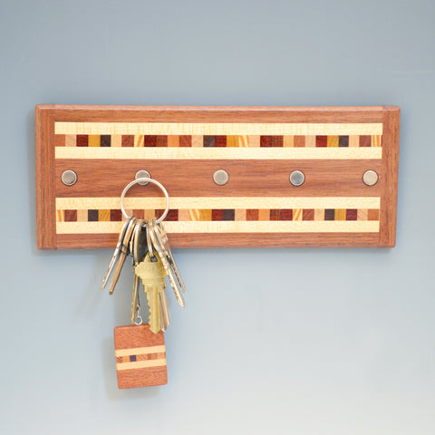 "Black Walnut ""Xander"" Series Key Chain Holder"