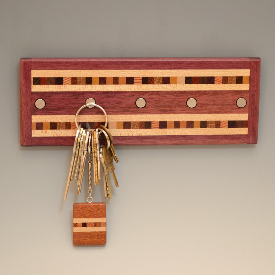 "Purpleheart ""Xander"" Series Key Chain Holder"