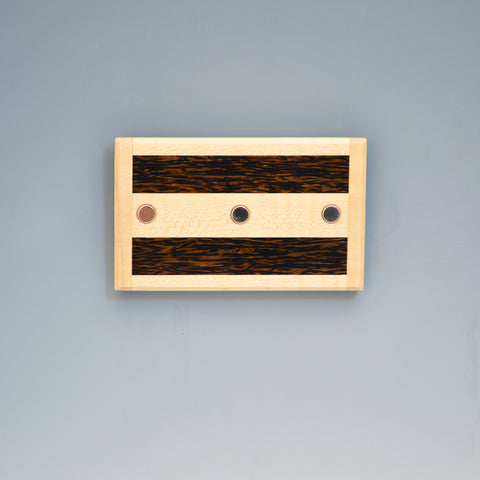 "Maple & Bloodwood ""Xander"" Series Key Chain Holder"