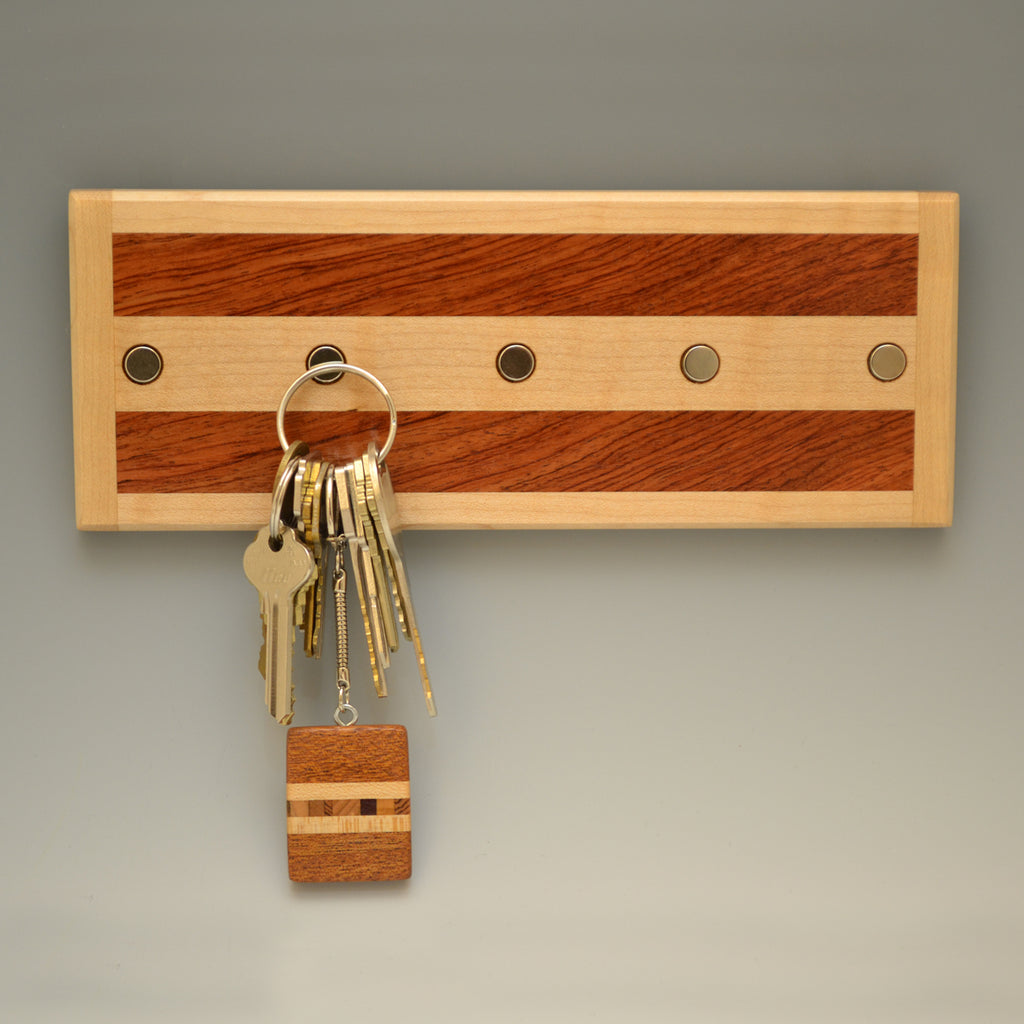 "Hard Maple ""Michael"" (KR105 & 115) Series Key Chain Holder"