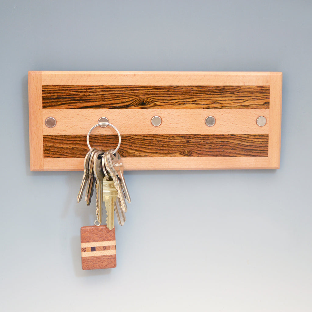 "Beech & Bocote ""Michael"" Series Key Chain Holder"