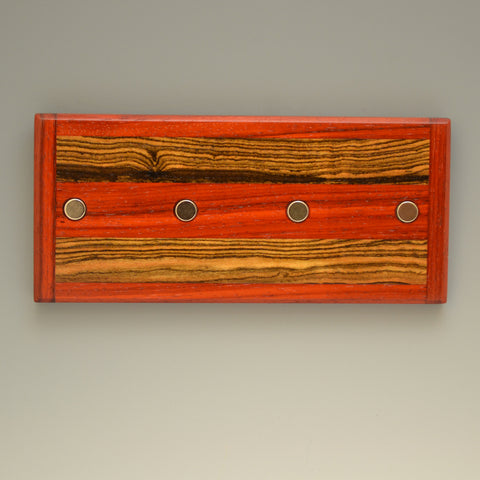 "Paduak & Bocote ""Michael"" (KR105 & 115) Series Key Chain Holder"