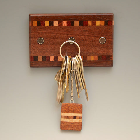 "Black Walnut ""Patti"" (KR127) Series Key Chain Holder"