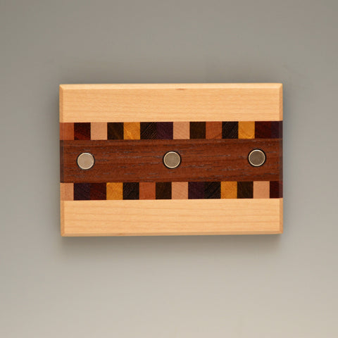 "Hard Maple ""Susan"" (KR451) Series Key Chain Holder"