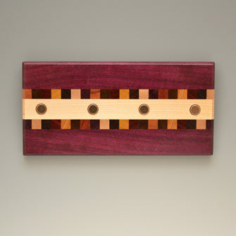 "Purpleheart ""Susan"" (KR451) Series Key Chain Holder"