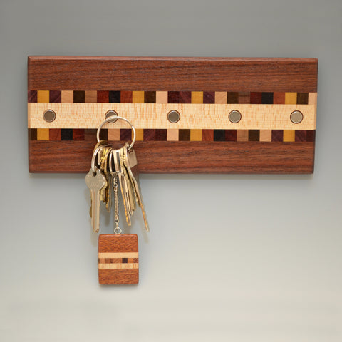 "Black Walnut ""Susan"" (KR451) Series Key Chain Holder"