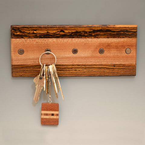 "Bocote & Mahogany ""Maria"" (KR456) Series Key Chain Holder"