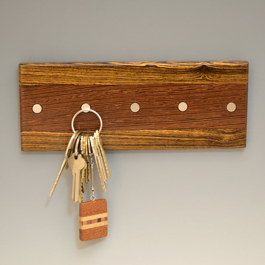 "Bocote & Wenge ""Maria"" (KR456) Series Key Chain Holder"