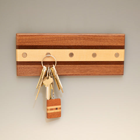 "Black Walnut ""Lotte"" (KR457) Series Key Chain Holder"
