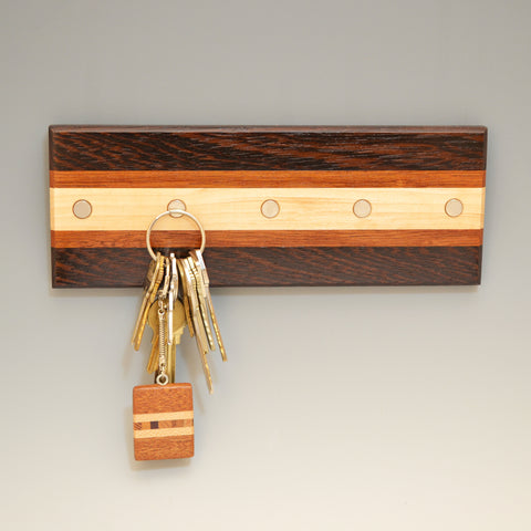 "Wenge ""Lotte"" (KR457) Series Key Chain Holder"