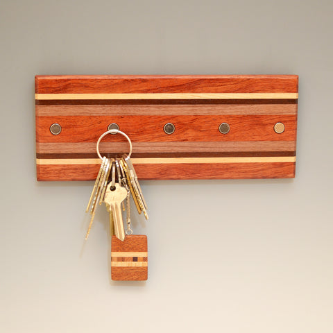 "Bubinga ""Hans & Bodil"" (KR458) Series Key Chain Holder"