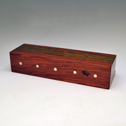 """Michael"" Bubinga & Ovangkol Wall Caddy"