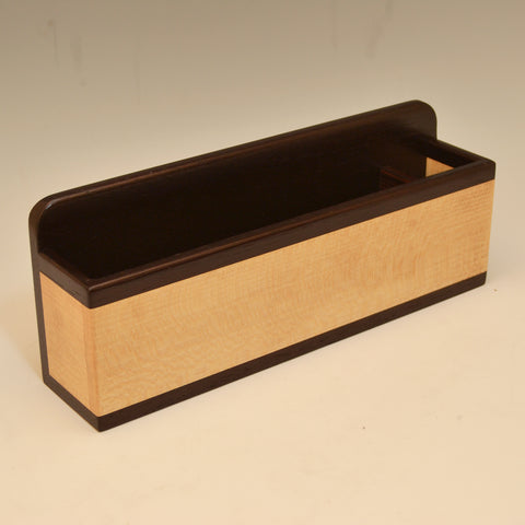 """Michael"" Wenge & Sycamore Wall Caddy"