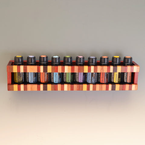 "Paduak ""Nichole"" Essential Oil Wall Caddy"