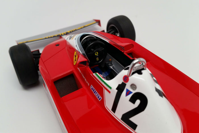 Ferrari 312T3 (1978 Canadian Grand Prix) | 1:18 Scale Model Car by Looksmart | Cockpit