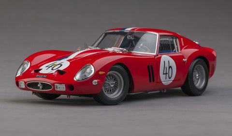 Ferrari 250GTO 1963 Nurburgring | 1:18 Scale Diecast Model by Kyosho | Front Quarter
