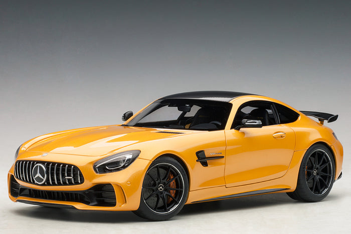 Mercedes-AMG GT R | 1:18 Scale Model Car by AUTOart | Yellow Variant