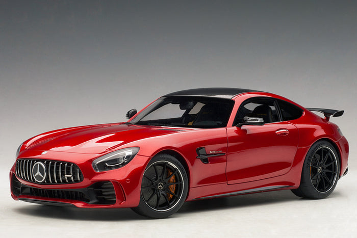 Mercedes-AMG GT R | 1:18 Scale Model Car by AUTOart | Red Variant