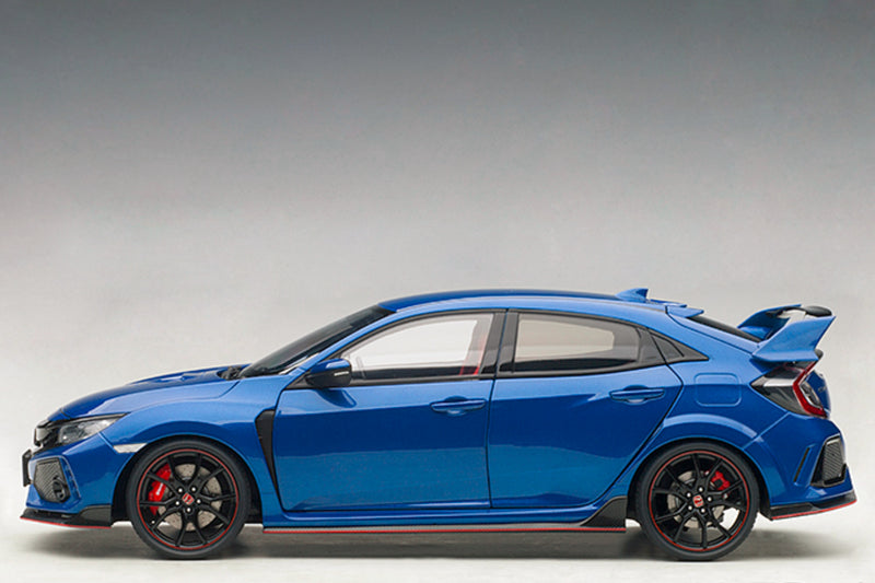 Honda Civic Type R (FK8) | 1:18 Scale Model Car by AUTOart | Blue Variant