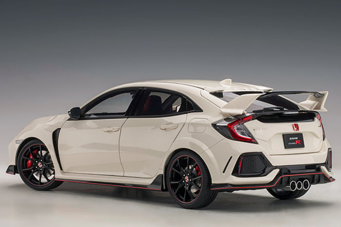 Honda Civic Type R (FK8) | 1:18 Scale Model Car by AUTOart | Rear Quarter