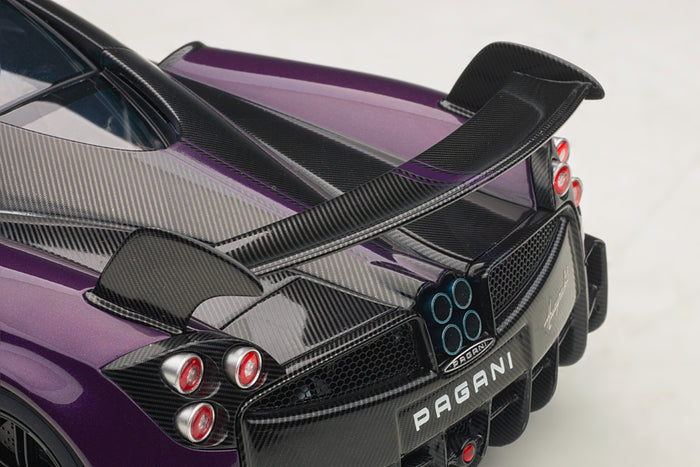 Pagani Huayra BC | 1:18 Scale Model Car by AUTOart | Rear Wing