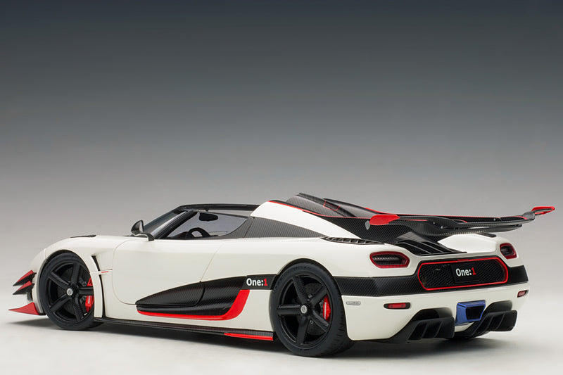 Koenigsegg One:1 | 1:18 Scale Model Car by AUTOart | Rear Quarter