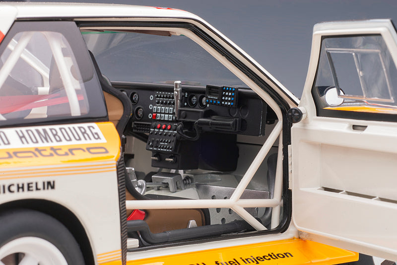 Audi Sport Quattro (1986 Monte Carlo Rally Winner) | 1:18 Scale Model Car by AUTOart | Right Interior